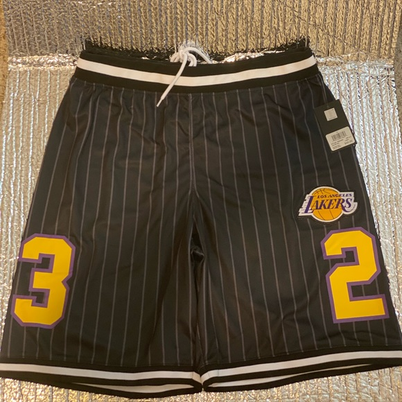 NBA Los Angeles Lakers Men's Size XL Purple Gold